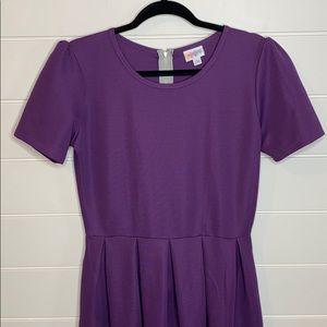 Lularoe Amelia dark purple, women's large BNWOT